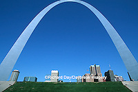 65012-05612 St. Louis skyline Jefferson National Expansion Memorial (The Arch)  St. Louis, MO