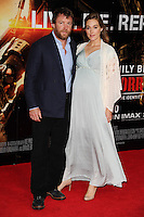 "Guy Ritchie and Jaqui Ainsley arriving for the World premiere of ""Edge of Tomorrow"" at the IMAX London, the first of three premieres around the world for the film in one day. 28/05/2014 Picture by: Steve Vas / Featureflash"