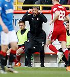 08.05.2018 Aberdeen v Rangers:  Derek McInnes