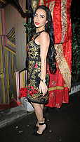 Natasha Grano at the Annabel's Chinese New Year party, Annabel's, Berkeley Square, London, England, UK, on Tuesday 05th February 2019.<br /> CAP/CAN<br /> &copy;CAN/Capital Pictures