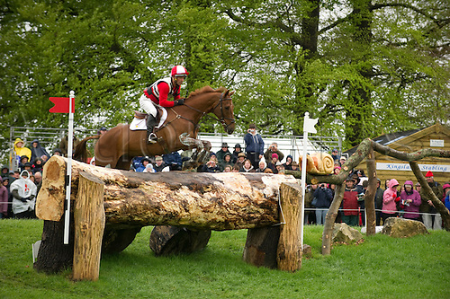 2.5.2010:, Badminton Cross Country, Joe Meyer of NZL on Clifton Lush at Fence 3