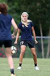 CARY, NC - MAY 18: Courtney Niemiec. The North Carolina Courage held a training session on May 18, 2017, at WakeMed Soccer Park Field 5 in Cary, NC.