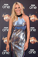 "Tess Daly<br /> at the launch of ""Strictly Come Dancing"" 2018, BBC Broadcasting House, London<br /> <br /> ©Ash Knotek  D3426  27/08/2018"
