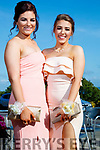Aoife Leen and Aisling Leen, enjoying Causeway Comprehensive School Debs, at Ballyroe Heights Hotel, Tralee, on Wednesday, August 9th last,