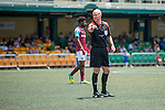 Referee Anthony Taylor during the match West Ham United vs Eastern during the Main tournament of the HKFC Citi Soccer Sevens on 22 May 2016 in the Hong Kong Footbal Club, Hong Kong, China. Photo by Lim Weixiang / Power Sport Images