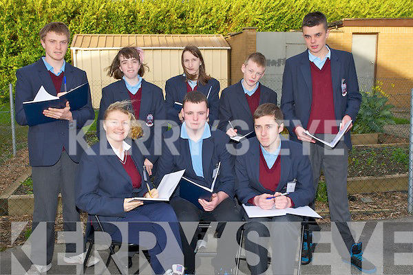COUNCIL: The newly elected student school council for St Itas & St Josephs,Primary School, Balloonagh on Thursday morning, Front l-r: Charlotte O'Shea (Sec), John O'Keeffe (Chairperson) and Craig McCannon. Back l-r: James Martin, Sharon Sheehan, Kerri Marsh,Owen Breen and Ryan Dempsey..........