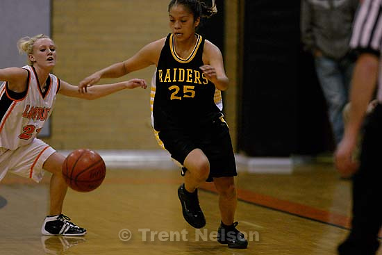 Whitehorse high school girls basketball loses to Monticello. 1.31.2006<br />