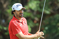Clement Sordet (FRA) in action during the first round of the Magical Kenya Open, Karen Country Club, Nairobi, Kenya. 14/03/2019<br /> Picture: Golffile | Phil Inglis<br /> <br /> <br /> All photo usage must carry mandatory copyright credit (&copy; Golffile | Phil Inglis)