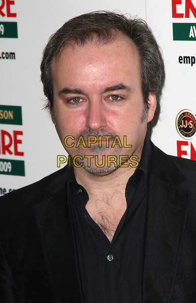 DAVID ARNOLD.Jameson Empire Film Awards at the Grosvenor House Hotel, Park Lane, London, England..March 29th, 2009.headshot portrait black stubble facial hair .CAP/JIL.©Jill Mayhew/Capital Pictures