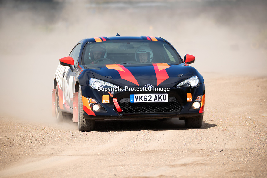 10/04/19<br /> <br /> ***Free photo for editorial use***<br /> <br /> Specially adapted Toyota GT 86 rally cars at the Spinal Track launch day at Bill Gwynne Rallyschool, Northamptonshire.  The charity is the first to make rally cars accessible to disabled people with those with spinal injuries. The automatic cars are fitted with hand controls.<br /> <br /> <br /> All Rights Reserved, F Stop Press Ltd.  (0)7765 242650  www.fstoppress.com rod@fstoppress.com