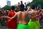 Carnaval de rua. PRaCa da Republica, São Paulo. 2018. © Juca Martins.