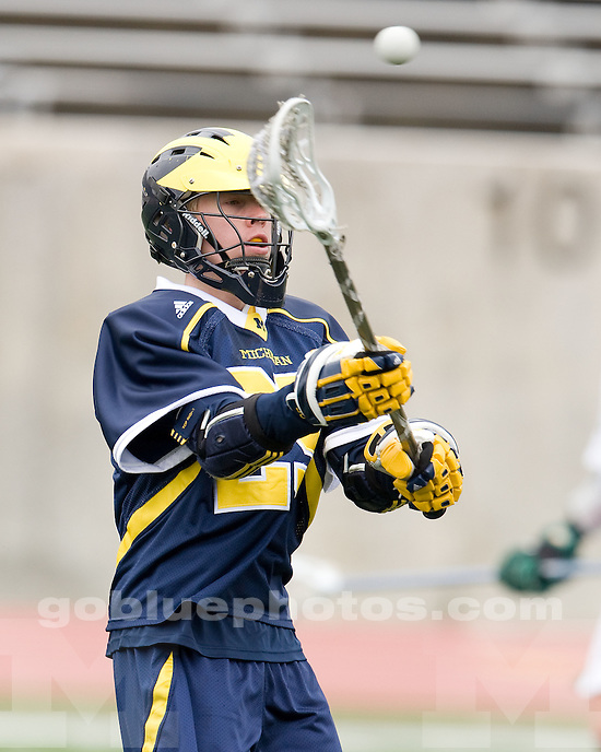 University of Michigan lacrosse (men) 19-2 victory over Eastern Michigan University Rynearson Stadium on 3/14/2010. .