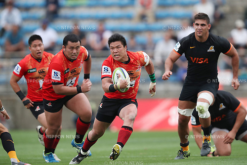 Harumichi Tatekawa (Sunwolves),<br /> APRIL 23, 2016 - Rugby : Super Rugby match between Sunwolves 36-28 Jaguares at Prince Chichibu Memorial Stadium in Tokyo, Japan. (Photo by AFLO SPORT)