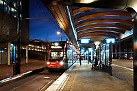 Nederland - Den Haag-  2018. Nieuwe tramhalte bij Station Holland Spoor.   Foto Berlinda van Dam / Hollandse Hoogte