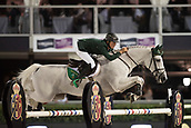 29th September 2017, Real Club de Polo de Barcelona, Barcelona, Spain; Longines FEI Nations Cup, Jumping Final; ALLEN Bertram (IRL)  riding Molly Malone Vi during the final of the Nations Cup
