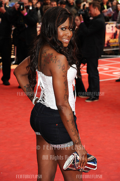 "Tasha Danvers arriving for the ""Fast Girls"" premiere at the Odeon West End, Leicester Square, London. 07/06/2012 Picture by: Steve Vas / Featureflash"