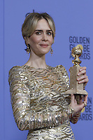 www.acepixs.com<br /> <br /> January 8 2017, LA<br /> <br /> Sarah Paulson appeared in the press room during the 74th Annual Golden Globe Awards at The Beverly Hilton Hotel on January 8, 2017 in Beverly Hills, California.<br /> <br /> By Line: Famous/ACE Pictures<br /> <br /> <br /> ACE Pictures Inc<br /> Tel: 6467670430<br /> Email: info@acepixs.com<br /> www.acepixs.com