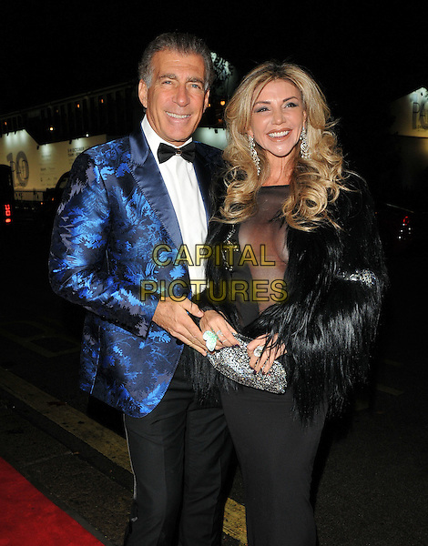 Steve Varsano and Lisa Tchenguiz at the Annabel's new extension and refurbishment VIP dinner, Annabel's, Berkeley Square, London, England, UK, on Friday 30 September 2016.<br /> CAP/CAN<br /> &copy;CAN/Capital Pictures