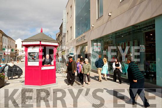 Tralee tourism Kiosk on Wednesday