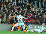 11.12.2013 Barcelona, Spain. UEFA Champions League, Group H Matchday 6. Picture show Neymar da Silva Santos Júnior  in action during game between FC Barcelona Against Celtic at Camp Nou