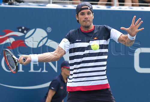 31.08.2015. New York, NY, USA.  Tommy Haas (GER)  US Open 2015 Grand Slam ITF ATP Tennis Mens 1st round Flushing Meadows 31st August 2015.