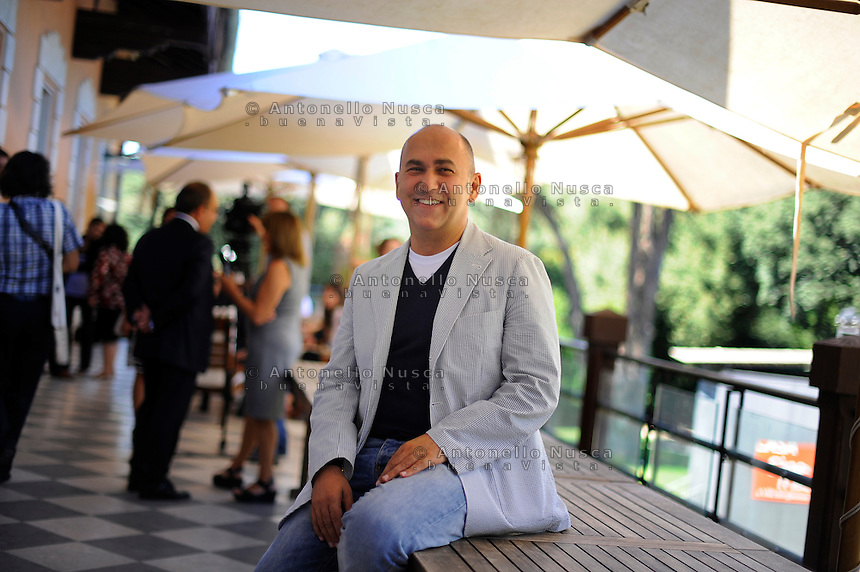 Roma, 21 Settembre, 2011. Il regista Italo Turco Ferzan Ozpetek
