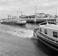 Oktober 1966. Schip Vierlanden.