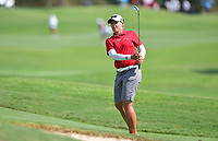 PATTAYA, THAILAND - FEBRUARY 22: Katherine Kirk of Australia 3rd shot on the 18th fairway during the second round of the Honda LPGA Thailand 2019 at Siam Country Club Pattaya (Old Course), Pattaya, Thailand on February 22, 2019.<br /> .<br /> .<br /> .<br /> (Photo by: Naratip Golf Srisupab/SEALs Sports Images)<br /> .<br /> Any image use must include a mandatory credit line adjacent to the content which should read: Naratip Golf Srisupab/SEALs Sports Images