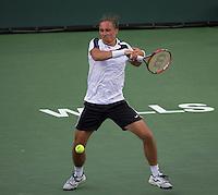 ALEXANDR DOLGOPOLOV (KAZ)<br /> <br /> Tennis - BNP PARIBAS OPEN 2015 - Indian Wells - ATP 1000 - WTA Premier -  Indian Wells Tennis Garden  - United States of America - 2015<br /> &copy; AMN IMAGES