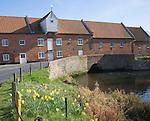 Watermill, Burnham Overy Staithe, Norfolk, England
