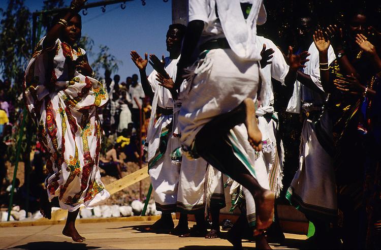 Ali Sabieh, Djibouti. Traditional dance.