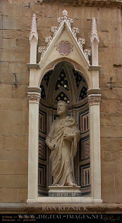 St Peter Donatello Orsanmichele Florence