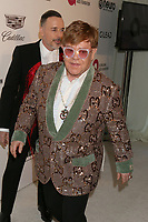 LOS ANGELES - FEB 24:  Elton John at the Elton John Oscar Viewing Party on the West Hollywood Park on February 24, 2019 in West Hollywood, CA