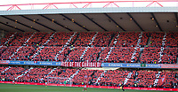 A display by the Forest fans before the game during the Sky Bet Championship match between Nottingham Forest and Millwall at the City Ground, Nottingham, England on 4 August 2017. Photo by James Williamson / PRiME Media Images.