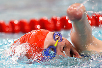 Picture by Richard Blaxall/SWpix.com - 14/04/2018 - Swimming - EFDS National Junior Para Swimming Champs - The Quays, Southampton, England - Louise Storey of Hoddesdon during the Women's Open 100m Freestyle