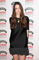 Stacy Martin<br /> arives for the Empire Magazine Film Awards 2014 at the Grosvenor House Hotel, London. 30/03/2014 Picture by: Steve Vas / Featureflash