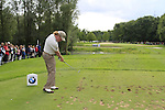 Miguel Angel Jimenez (ESP) tees off on the par3 12th hole during Day 2 of the BMW International Open at Golf Club Munchen Eichenried, Germany, 24th June 2011 (Photo Eoin Clarke/www.golffile.ie)
