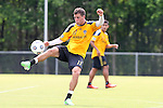 28 May 2013: Colin Clark. The Los Angeles Galaxy held a training session on Field 3 at WakeMed Soccer Park in Cary, NC the day before playing in a 2013 Lamar Hunt U.S. Open Cup third round game.