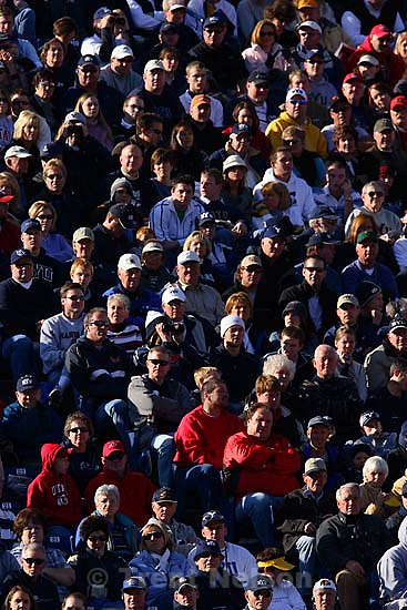 fans. BYU vs. Utah college football Saturday in Provo. Utah wins in overtime; 11.19.2005<br />