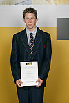 Ryan Sissons, Macleans College, All Rounder - Athletics, Cross Country, Cycling, Triathlon/Duathlon/Multisport/Aquathon. ASB College Sport Young Sportsperson of the Year Awards 2006, held at Eden Park on Thursday 16th of November 2006.<br />