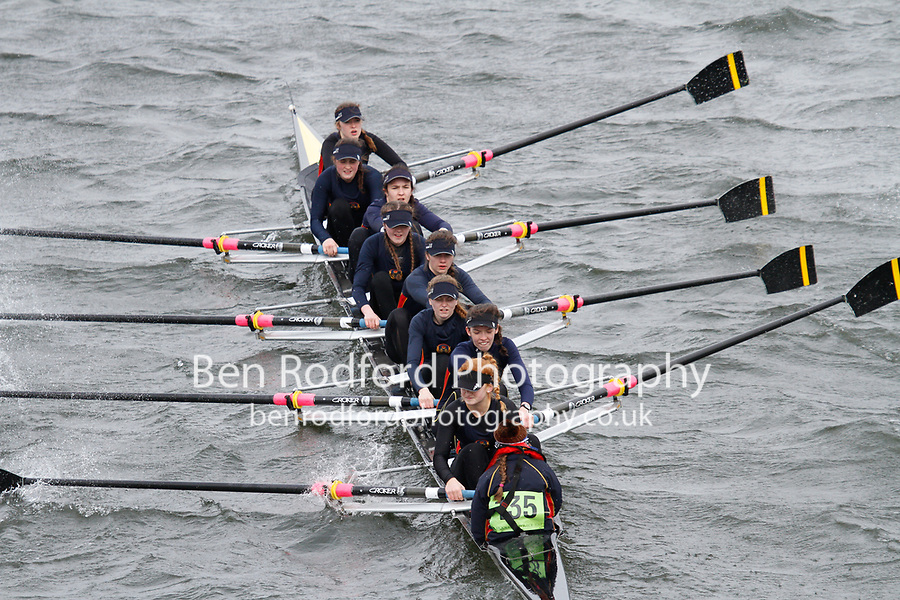 Crew: 135  Enniskillen Royal Boat Club - Ireland  Event: Girls CHAMP eights<br /> <br /> Schools' Head of the River 2017<br /> <br /> To purchase this photo, or to see pricing information for Prints and Downloads, click the blue 'Add to Cart' button at the top-right of the page.