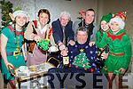 Fr Jack and the crew turned up for the senior citizens Christmas lunch in the Killarney Oaks Hotel on Sunday l-r: Aine O'Sullivan, Kieran Murphy, Don o'Donoghue, Brian Kelly, John Kelly, Shona Courtney and Rian Kelly