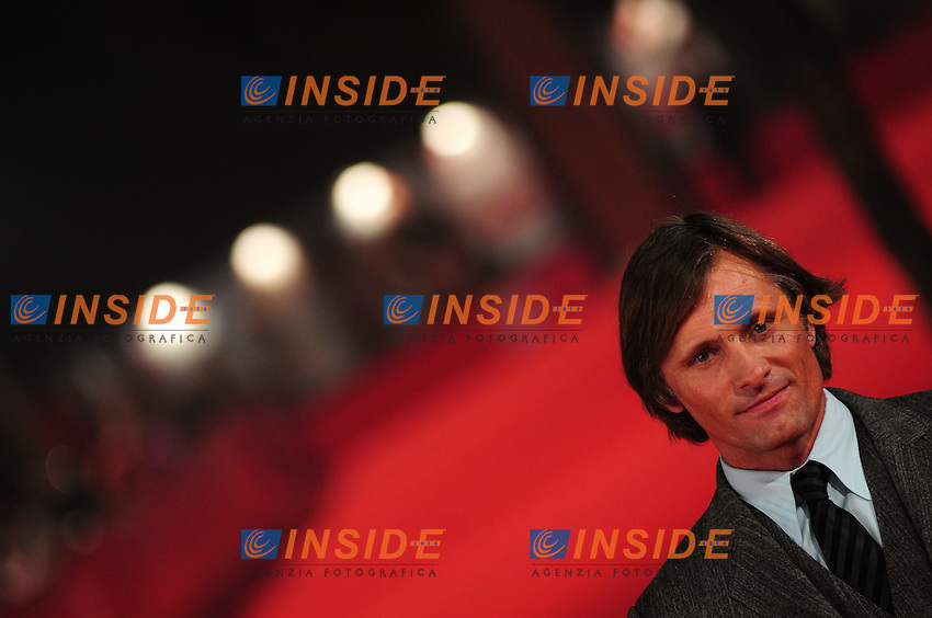 Third edition of the Rome International film festival<br /> Viggo Mortensen<br /> Red carpet 'Good'<br /> Roma 26/10/2008<br /> Photo Luca Cavallari Insidefoto