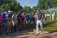 Ross Fisher (ENG) heads to 11 during 1st round of the 100th PGA Championship at Bellerive Country Cllub, St. Louis, Missouri. 8/9/2018.<br /> Picture: Golffile | Ken Murray<br /> <br /> All photo usage must carry mandatory copyright credit (© Golffile | Ken Murray)