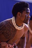 Kane Kahiko Performance at Hawai'i Secondary Schools Hula Kahiko Competition