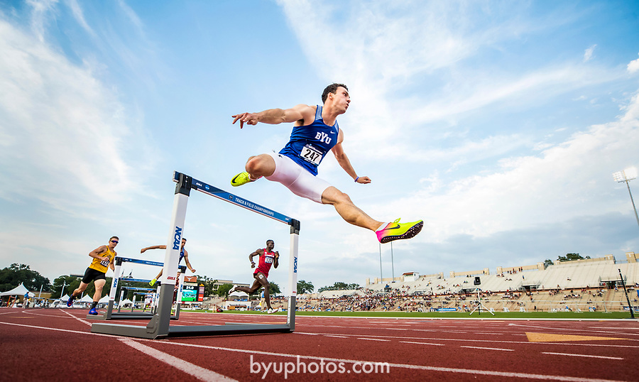17wTRK West Prelims 1494<br /> <br /> 17wTRK West Prelims<br /> <br /> NCAA Track and Field West Preliminaries in Austin, TX where Fifteen BYU Athletes qualified to go to Nationals.<br /> <br /> May 26, 2017<br /> <br /> Photography by Nate Edwards/BYU<br /> <br /> © BYU PHOTO 2017<br /> All Rights Reserved<br /> photo@byu.edu  (801)422-7322