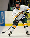 5 January 2007: University of Vermont forward Dean Strong (8) from Mississauga, ON, in action against the University of New Hampshire Wildcats at Gutterson Fieldhouse in Burlington, Vermont. The UNH Wildcats defeated the UVM Catamounts 7-1 in front of a record setting 48th consecutive sellout at &quot;the Gut&quot;...Mandatory Photo Credit: Ed Wolfstein Photo.<br />