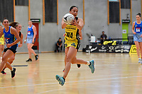 Pulse&rsquo; Whitney Souness in action during the Pre Season Tournament - Pulse v Mystics at Ngā  Purapura, Otaki, New Zealand on Saturday 9 February  2019. <br /> Photo by Masanori Udagawa. <br /> www.photowellington.photoshelter.com
