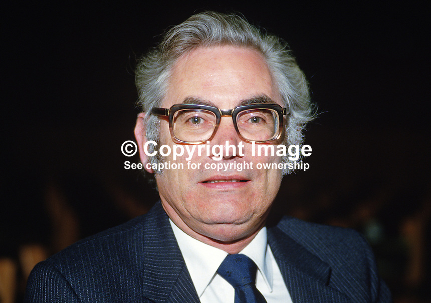 Professor Vincent Mageean, N Ireland Small Business Institute, University of Ulster, N Ireland, 19850416VM..Copyright Image from Victor Patterson, 54 Dorchester Park, Belfast, UK, BT9 6RJ..Tel: +44 28 9066 1296.Mob: +44 7802 353836.Voicemail +44 20 8816 7153.Skype: victorpattersonbelfast.Email: victorpatterson@mac.com.Email: victorpatterson@ireland.com (back-up)..IMPORTANT: If you wish to use this image or any other of my images please go to www.victorpatterson.com and click on the Terms & Conditions. Then contact me by email or phone with the reference number(s) of the image(s) concerned.