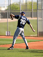 RJ Seidel / Milwaukee Brewers..Photo by:  Bill Mitchell/Four Seam Images